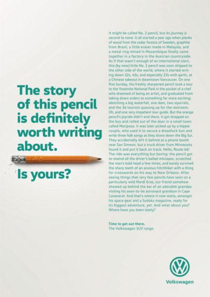 crayon 425x600 - Dossier : Le meilleur de la Rédaction Publicitaire