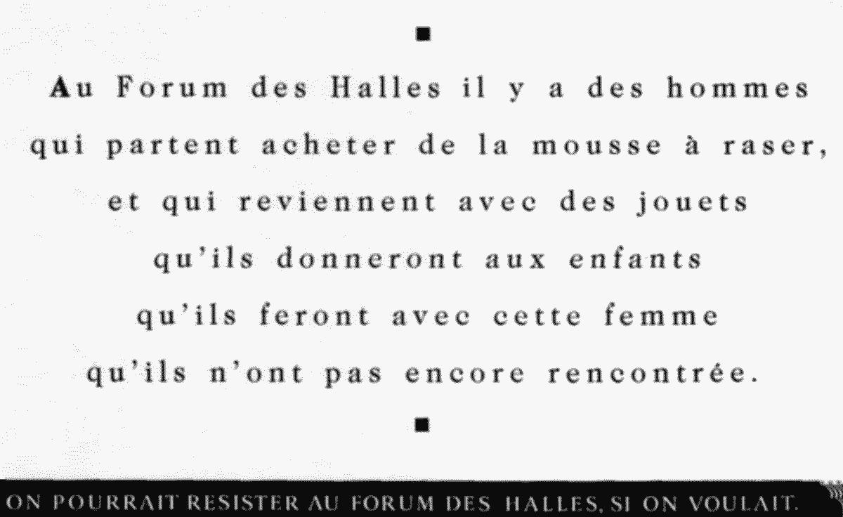 halles - Dossier : Le meilleur de la Rédaction Publicitaire