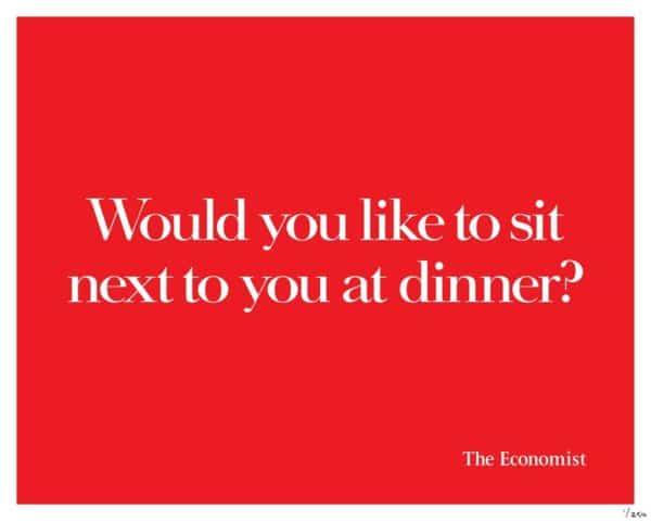 The economist 12 600x480 - Dossier : Le meilleur de la Rédaction Publicitaire