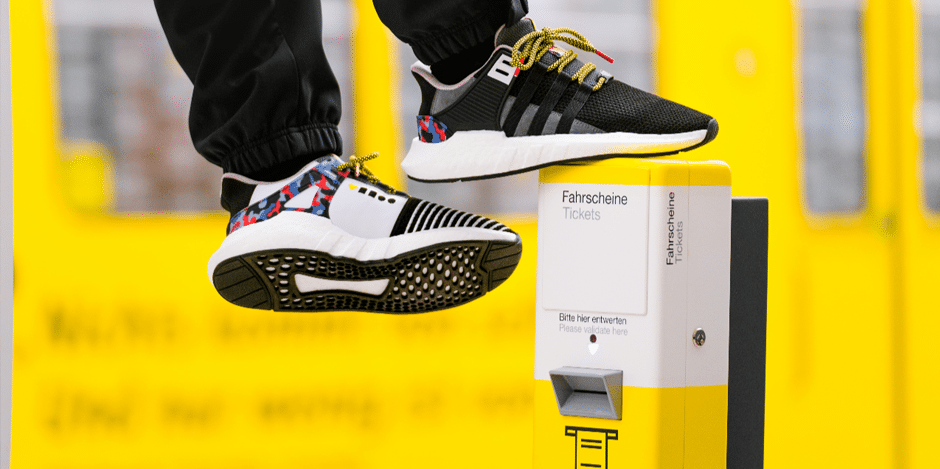 adidas chaussures ticket de metro - Jacquelin Guillaume-Duverne