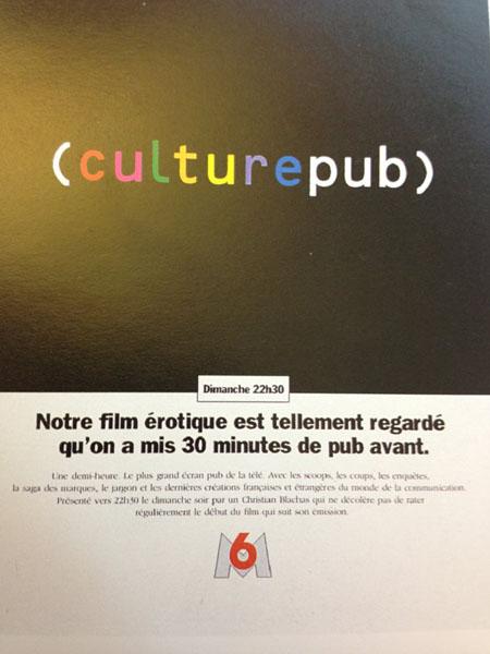 M6 culture pub - Dossier : Le meilleur de la Rédaction Publicitaire