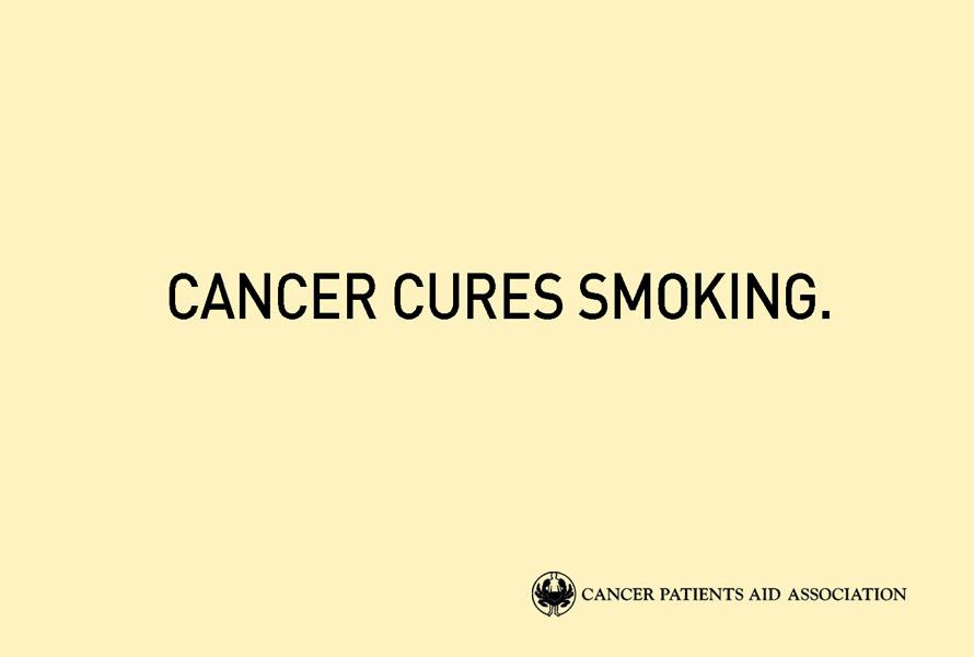 cancer - Dossier : Le meilleur de la Rédaction Publicitaire