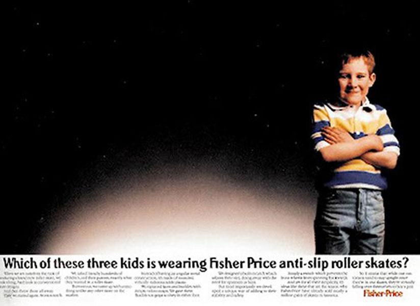 fisher price - Dossier : Le meilleur de la Rédaction Publicitaire