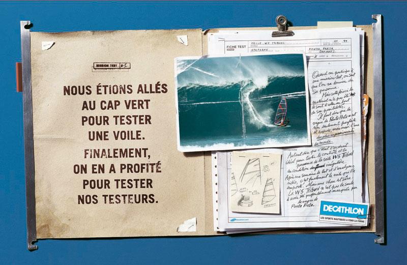 DecathlonMT Cap vert 1340 c - Dossier : Le meilleur de la Rédaction Publicitaire