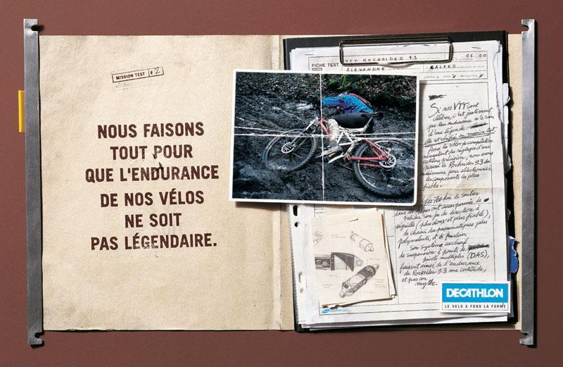 DecathlonMT legendaire 1340 c - Dossier : Le meilleur de la Rédaction Publicitaire
