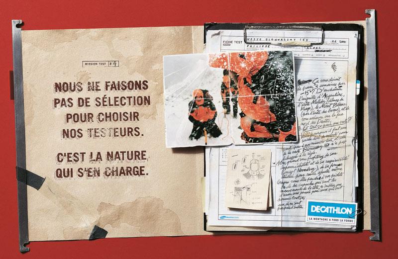 DecathlonMT selection 1340 c - Dossier : Le meilleur de la Rédaction Publicitaire