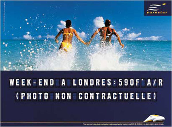 eurostar 8 600x443 - Dossier : Le meilleur de la Rédaction Publicitaire
