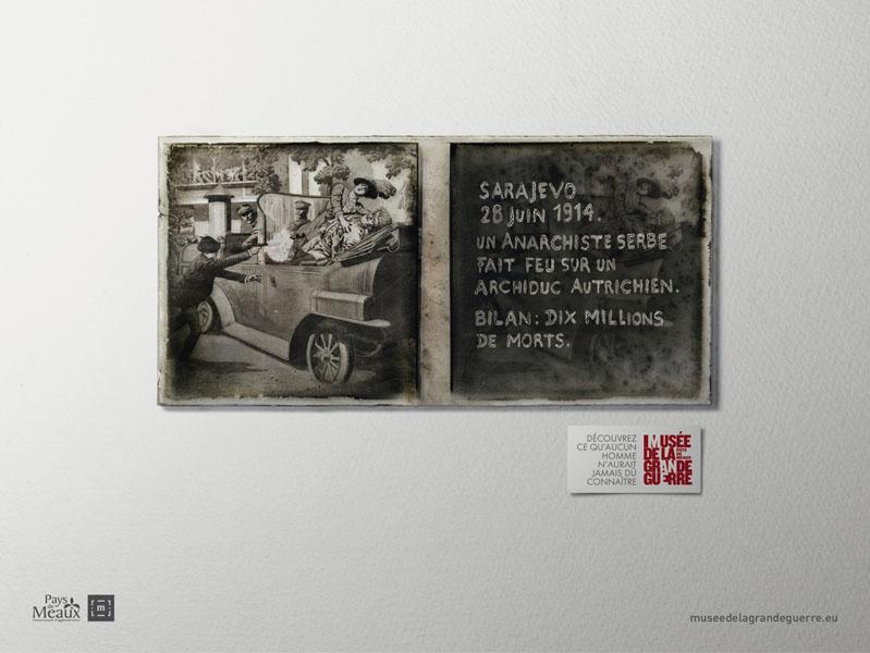 museedelagrandeguerre 1 - Dossier : Le meilleur de la Rédaction Publicitaire
