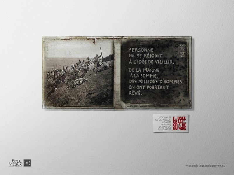 museedelagrandeguerre 2 - Dossier : Le meilleur de la Rédaction Publicitaire