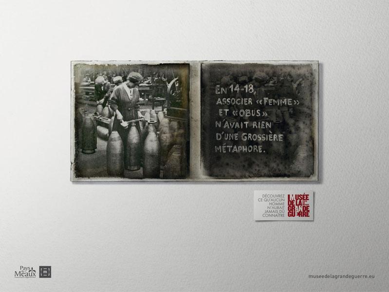 museedelagrandeguerre 3 - Dossier : Le meilleur de la Rédaction Publicitaire