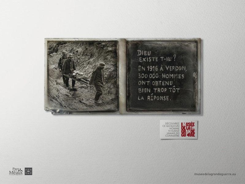 museedelagrandeguerre 4 - Dossier : Le meilleur de la Rédaction Publicitaire