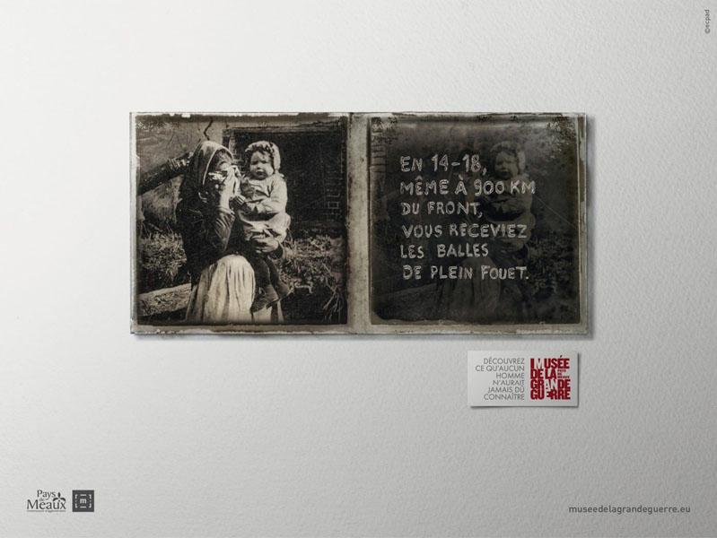 museedelagrandeguerre 5 - Dossier : Le meilleur de la Rédaction Publicitaire
