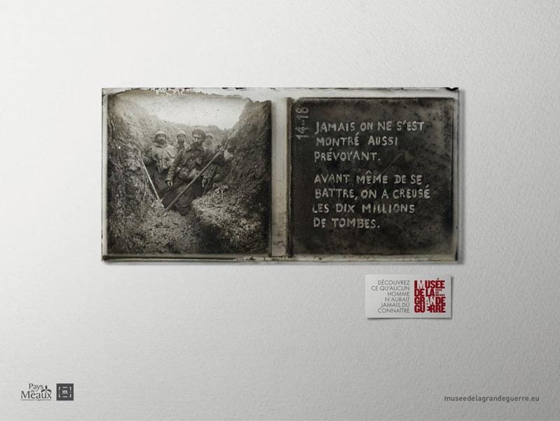 museedelagrandeguerre 6 - Dossier : Le meilleur de la Rédaction Publicitaire