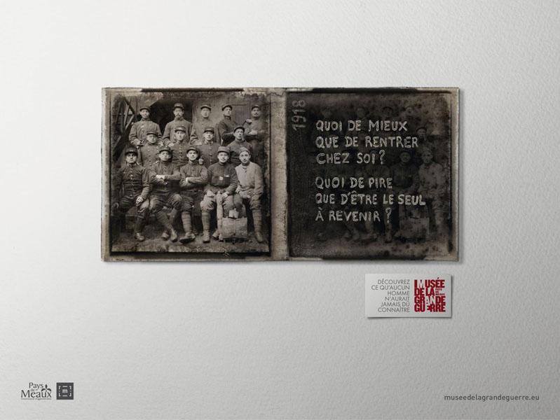 museedelagrandeguerre 8 - Dossier : Le meilleur de la Rédaction Publicitaire