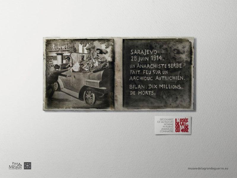 museedelagrandeguerre 9 - Dossier : Le meilleur de la Rédaction Publicitaire