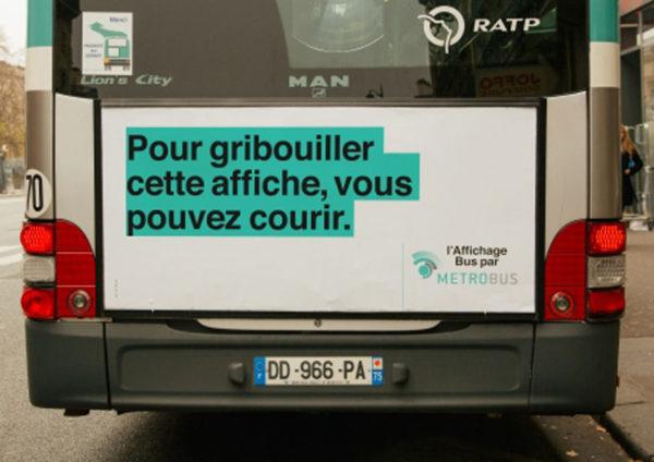 metrobus 2 600x424 - Dossier : Le meilleur de la Rédaction Publicitaire