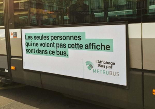 metrobus 6 600x424 - Dossier : Le meilleur de la Rédaction Publicitaire