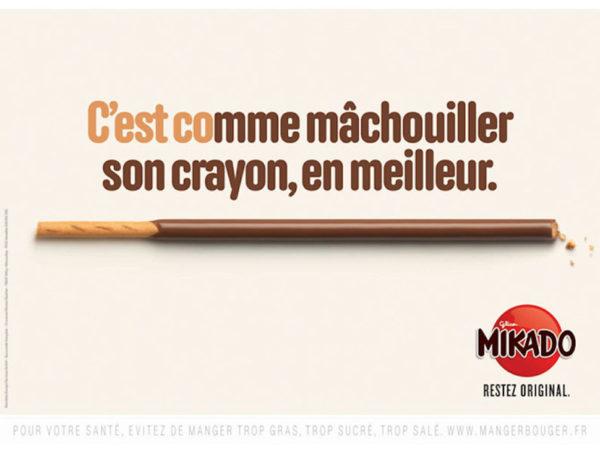 mikado 6 600x452 - Dossier : Le meilleur de la Rédaction Publicitaire