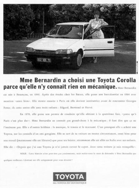 toyota 2 445x600 - Dossier : Le meilleur de la Rédaction Publicitaire