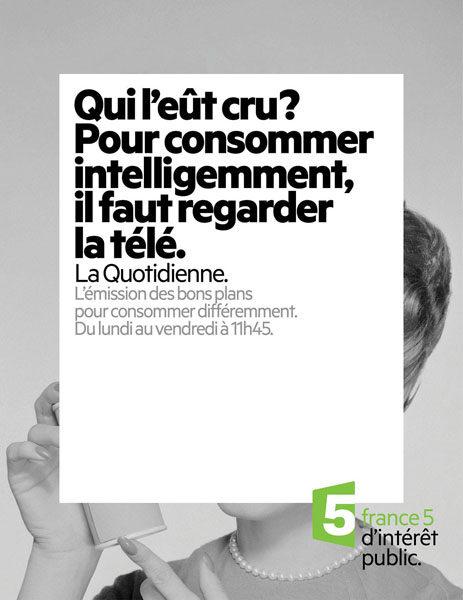 france 5 3 463x600 - Dossier : Le meilleur de la Rédaction Publicitaire