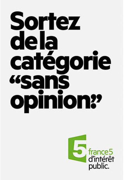 france 5 5 414x600 - Dossier : Le meilleur de la Rédaction Publicitaire
