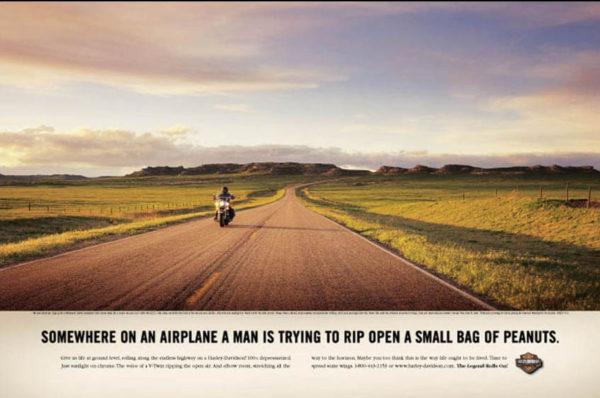 harley davidson 1 600x398 - Dossier : Le meilleur de la Rédaction Publicitaire