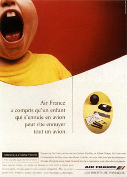 air france 3 - Dossier : Le meilleur de la Rédaction Publicitaire