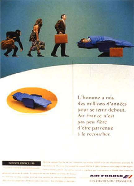 air france 4 - Dossier : Le meilleur de la Rédaction Publicitaire