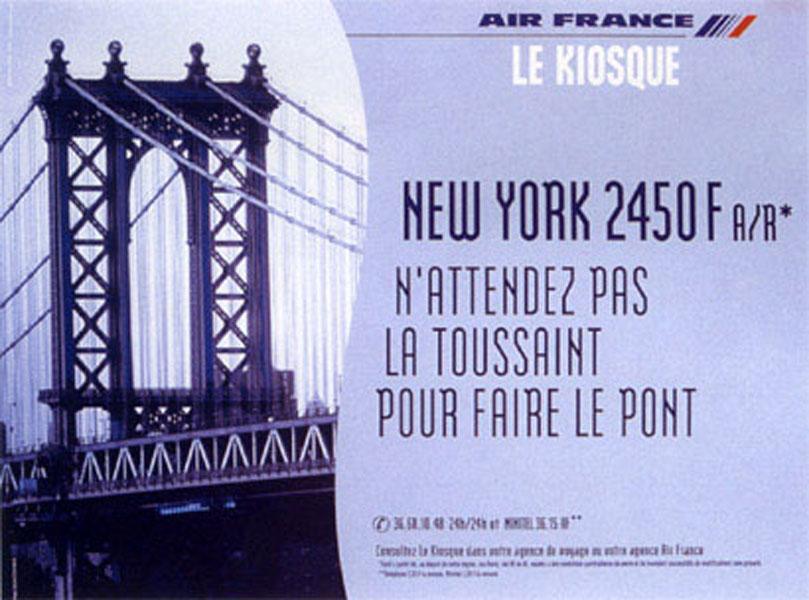 air france  - Dossier : Le meilleur de la Rédaction Publicitaire