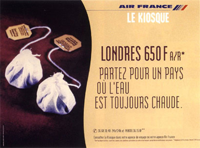 air france 1 - Dossier : Le meilleur de la Rédaction Publicitaire