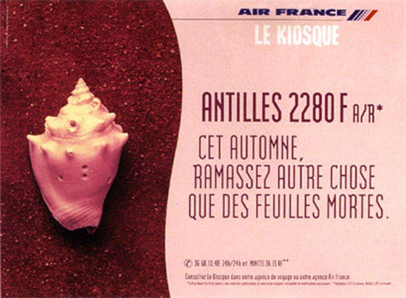 air france 2 - Dossier : Le meilleur de la Rédaction Publicitaire