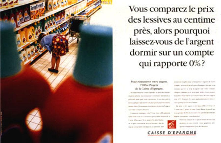 caisse d epargne 3 - Dossier : Le meilleur de la Rédaction Publicitaire