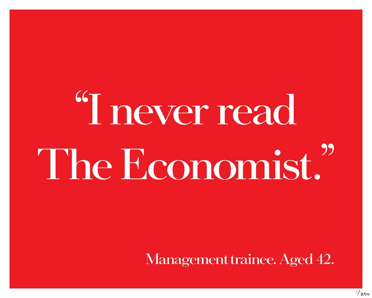 Theeconomist2 - Dossier : Le meilleur de la Rédaction Publicitaire