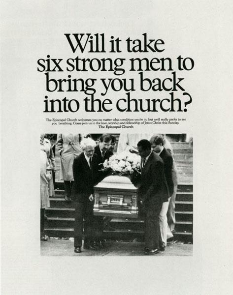 episcopal church 1 - Dossier : Le meilleur de la Rédaction Publicitaire