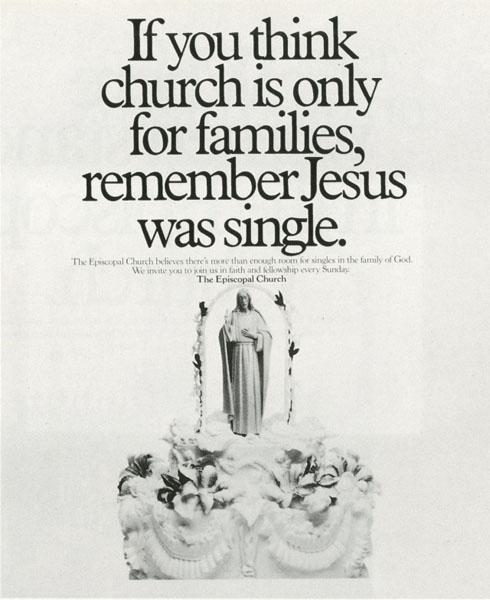 episcopal church 5 - Dossier : Le meilleur de la Rédaction Publicitaire