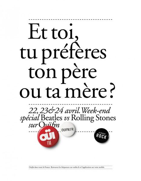 OuiFM 1 - Dossier : Le meilleur de la Rédaction Publicitaire