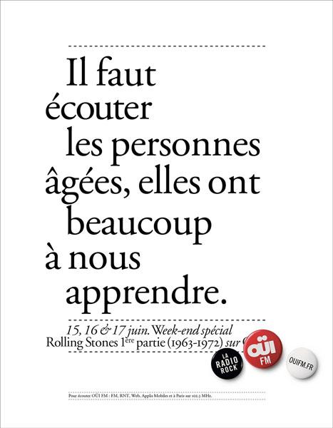 OuiFM 14 - Dossier : Le meilleur de la Rédaction Publicitaire