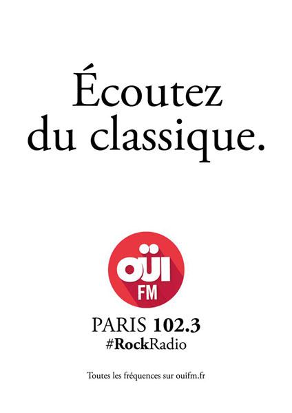 OuiFM 3 - Dossier : Le meilleur de la Rédaction Publicitaire