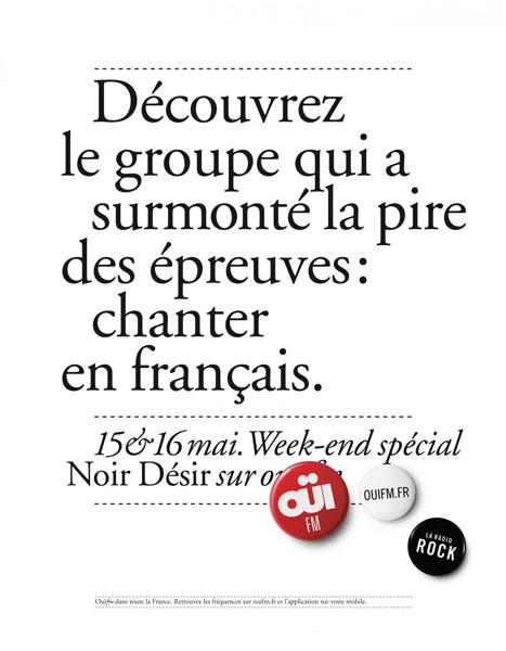 OuiFM 7 - Dossier : Le meilleur de la Rédaction Publicitaire