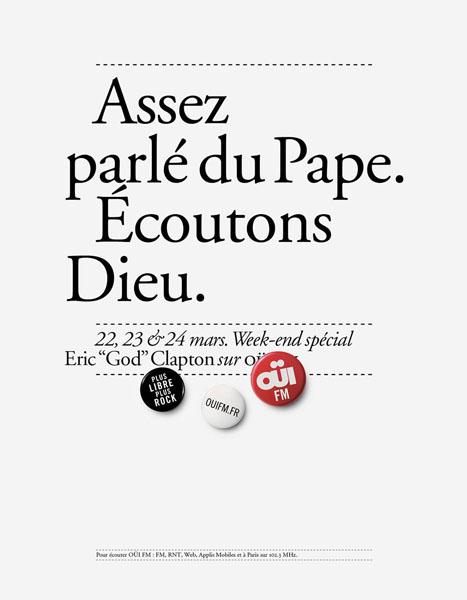 OuiFM 9 - Dossier : Le meilleur de la Rédaction Publicitaire