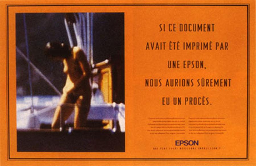 epson 3 - Dossier : Le meilleur de la Rédaction Publicitaire
