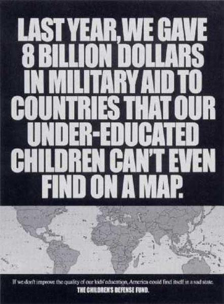 children defense8 - Dossier : Le meilleur de la Rédaction Publicitaire