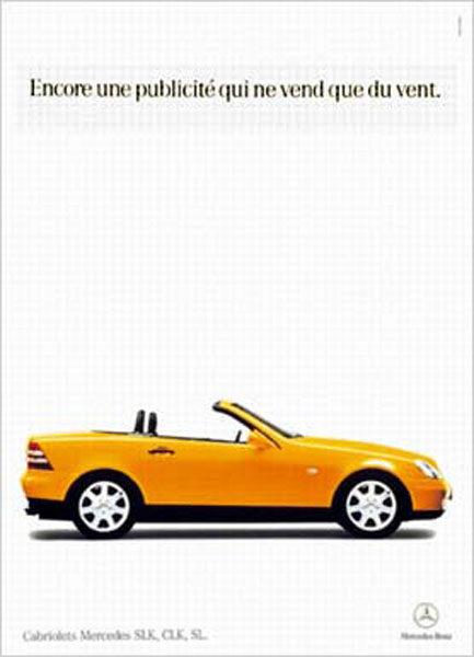 mercedes 1 433x600 - Dossier : Le meilleur de la Rédaction Publicitaire