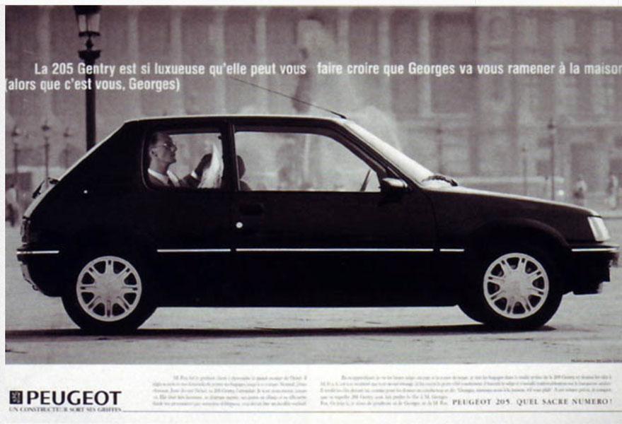 peugeot 1 - Dossier : Le meilleur de la Rédaction Publicitaire
